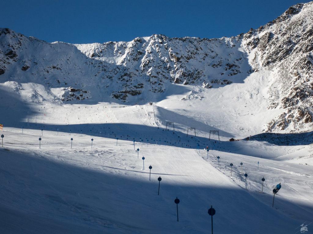 Vermutlich die bestmarkierteste Piste der Alpen zur Zeit