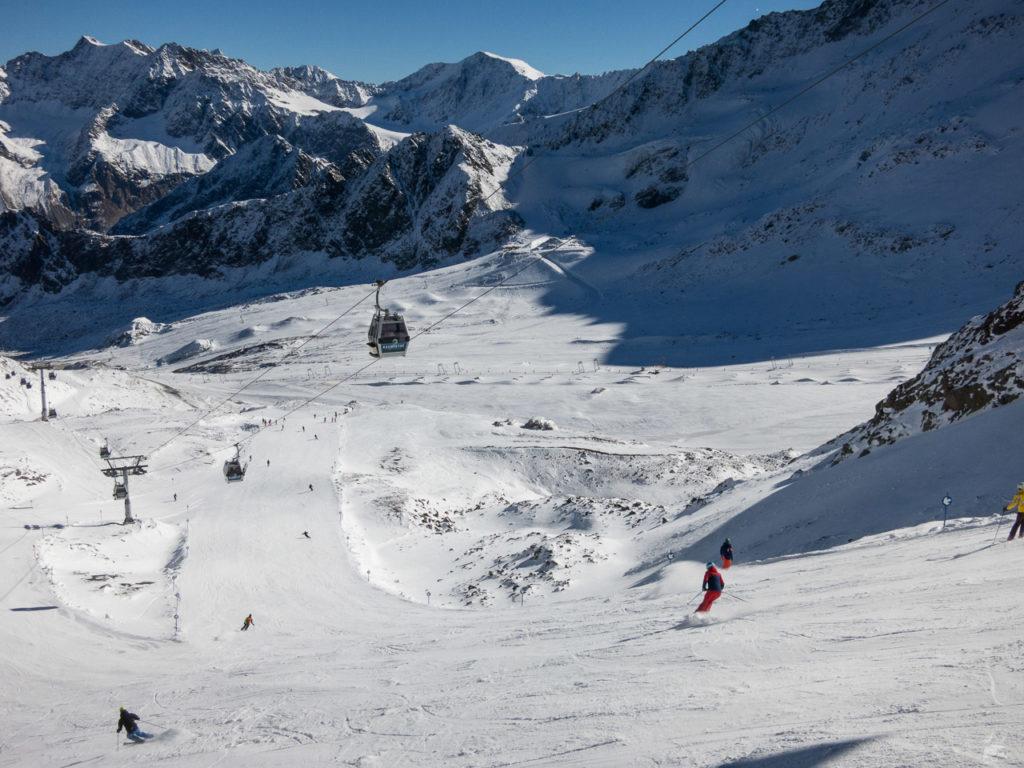Starthang Karlesspitz. Ob hier noch Eis drunter ist wie 2004?