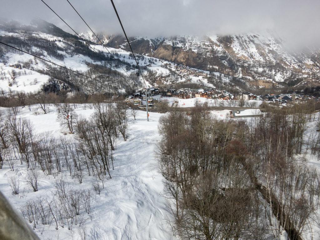 Noch genug Schnee auch in St. Martin
