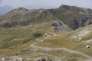 Blick zum Col de la Chiaupe